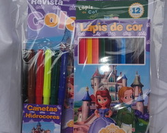 Kit de colorir princesinha Sofia