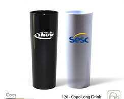 COPO LONG DRINK 330ML PERSONALIZADO SERIGRAFIA