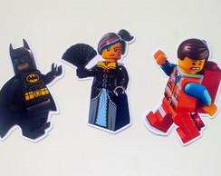10 Apliques Lego Movie
