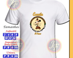 Camiseta Minnie Safari Personalizada