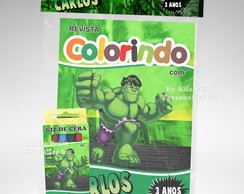 Kit Colorir Hulk Baby + Brindes