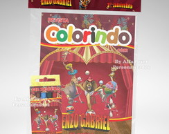 Kit Colorir Madagascar Circo + Brindes