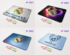 Mouse Pad Real Madrid Madrista Cristiano