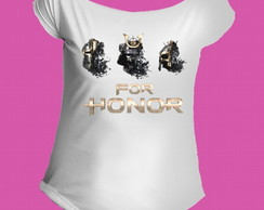 Camiseta Allsgeek For Honor gola canoa 1