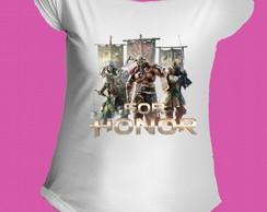 Camiseta Allsgeek For Honor gola canoa 4
