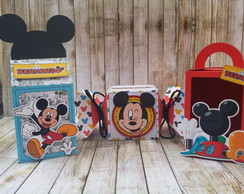 Kit Festa Mickey Luxo 3D
