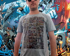 Camiseta Quadrinhos da Marvel