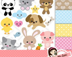 Kit Digital Animais 20