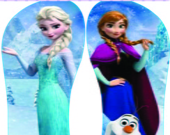 Chinelos Frozen
