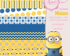 Kit Digital Personagens - Minions