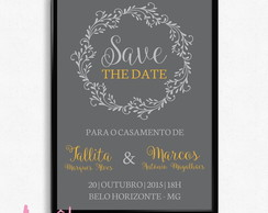 Save the date - Casamento 01