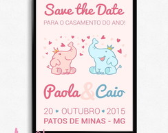Save the date - Casamento 02