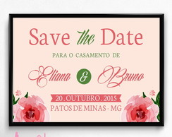 Save the date - Casamento 03