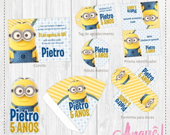 Kit festa digital - Minions