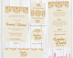 Kit festa digital - Bodas Ornamento