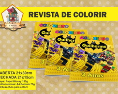 Revista Colorir BATMAN LEGO