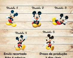 Aplique/Recorte Mickey 5 cm