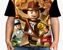Camiseta infantil lego Indiana Jones