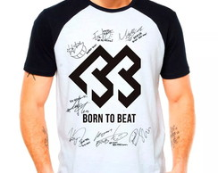 Camiseta Raglan Kpop Btob Born To Beat