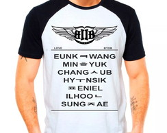 Camiseta Raglan Kpop Btob Born To Beat L