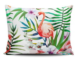 Almofada Tropical Flamingo Decorativa