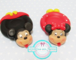 Porta doces Mickey e Minnie