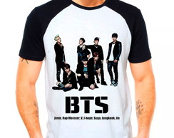 Camiseta BTS Raglan Team Integrantes