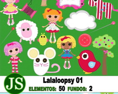 Kit Digital Scrapbook Lalalopsy