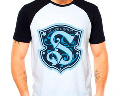 Camiseta Super Junior Kpop Raglan