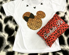 Baby Look Mickey Customizada