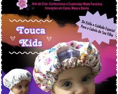 ... Touca Dupla Cetim Atoalhada Kids 5d29abffb99