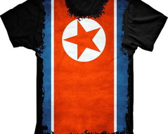 Camiseta Coreia Do Norte