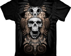 Camiseta Caveira Indian