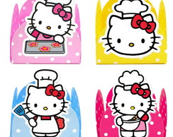 Forminha 3D - Hello Kitty