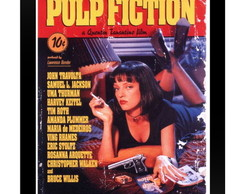 Quadro Poster 0009 Pulp Fiction