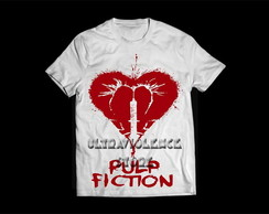 Camiseta Feminina Pulp Fiction