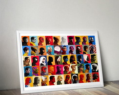 Quadro All Star Marvel