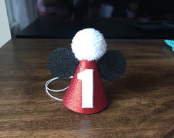 Mini Chapéu Parabens - minnie, mickey