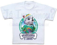 Camiseta Everest Patrulha Canina