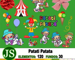 Kit Digital Scrapbook Patati Patata