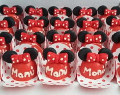 Mini trufa decorada tema Minnie