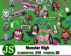 Kit Digital Scrapbook Monster High