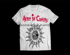 Camiseta Masculina Alice In Chains