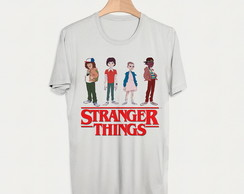 Camiseta Stranger Things Blusa Camisa