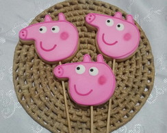 Bolacha Decorada Peppa