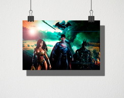 Poster A3 Batman vs Superman