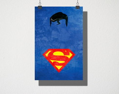 Poster A3 Superman