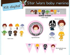 Kit digital Star Wars | para imprimir
