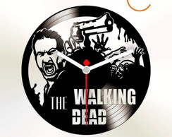RELOGIO DE DISCO DE VINIL (THE WALK.DEAD