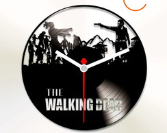 RELOGIO DE VINIL THE WALK DEAD